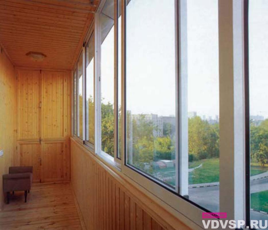 Алюминиевое остекление балконов и лоджий алюминиевым профиле.