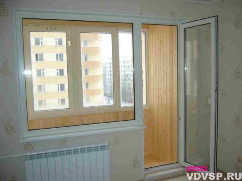 Установка балконных дверей в москве..