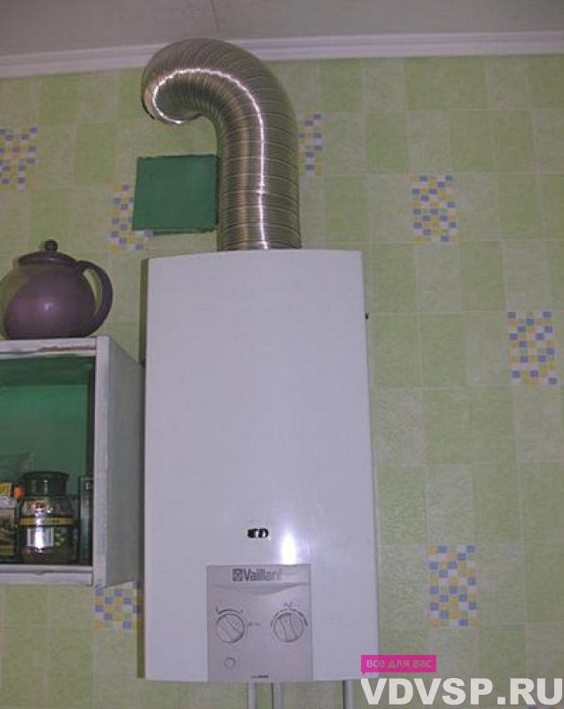 Дымоход для газовой колонки своими руками в частном доме