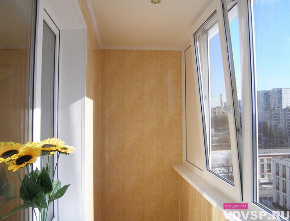 Остекление и утепление балконов и лоджий..